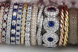 Assorted jewelery collections